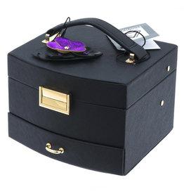 Davidt's - juwelendoos - half automatisch -  Violet
