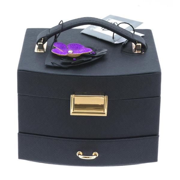 Davidt's - juwelendoos - half automatisch -  Violet - 333023-30