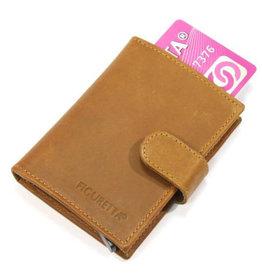Card protector - creditcardhouder - leer hunter khaki