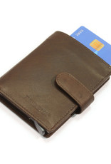 Card protector - creditcardhouder - leer - bruin