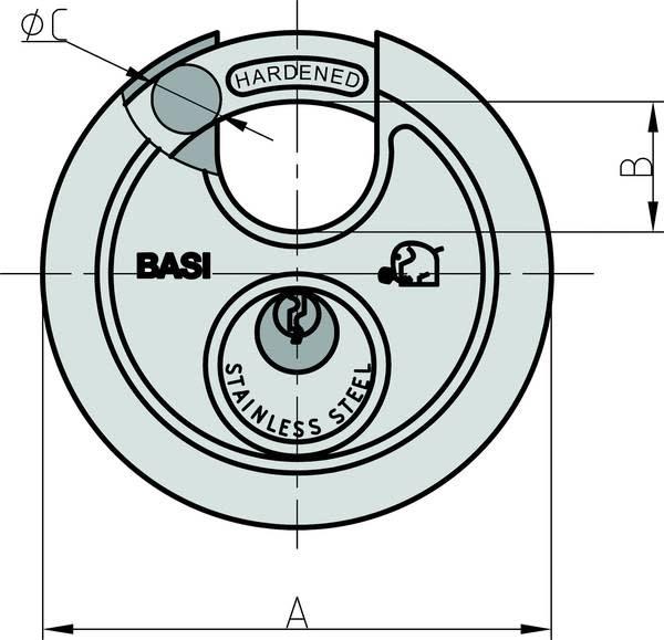 Basi Basi - Diskusslot - 50mm