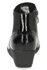 Caprice Caprice 25459 - zwart nappa lak - enkellaars