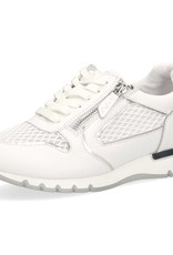 Caprice Caprice 23700 - Wit combi - sneaker - veter en rits