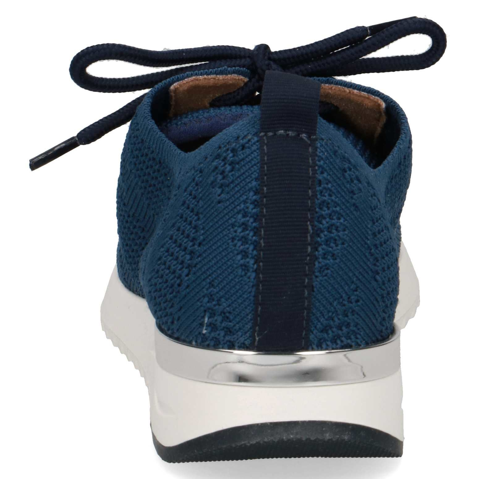 Caprice Caprice 23712 - navy - gebreide sneaker - veter