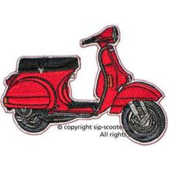"""Patch """"Vespa PX"""",  red, 70069910"""
