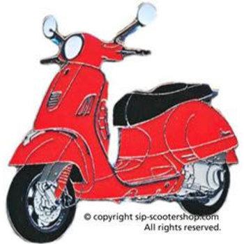 Pin Vespa GTS,  red, , PIN1137G