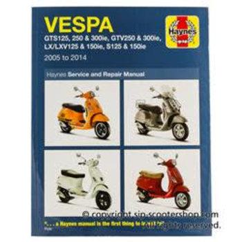 Hand Book VESPA GTS125/250 /300, 98976000