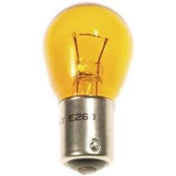 12V/10W, Bulb indicator, offset pins, orange