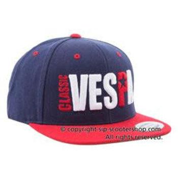 "Cap ""CLASSIC VESPA"", blue/red/white"
