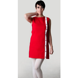 Love Her Madly Diane Retro Dress RED 18
