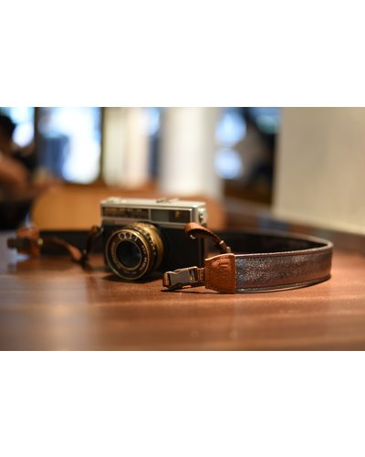 Shiny Metaal camerariem