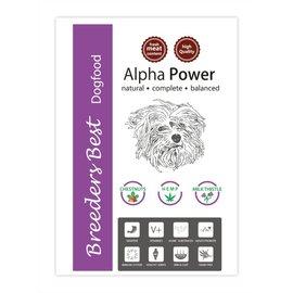 Breeders Best Nouveautée! Alpha Power 2,5 kg ou 10kg