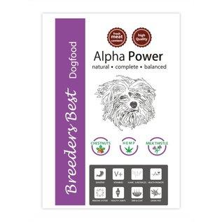 Breeders Best NEUHEIT! Alpha Power 10kg oder 2,5kg