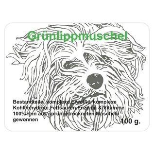 Breeders Best Grünlippmuschelpulver 100g.