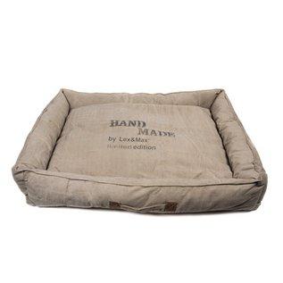 LEX & MAX LEX & MAX Basket Handmade 100x75x20cm Sand