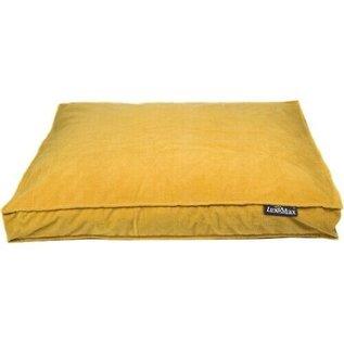LEX & MAX Royal Velvet 90 x65 cm Honey Yellow