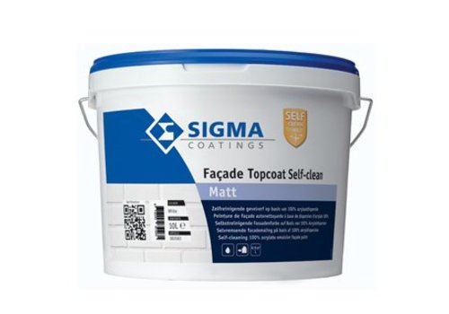 Sigma Sigma Facade Topcoat Self-Claen Matt