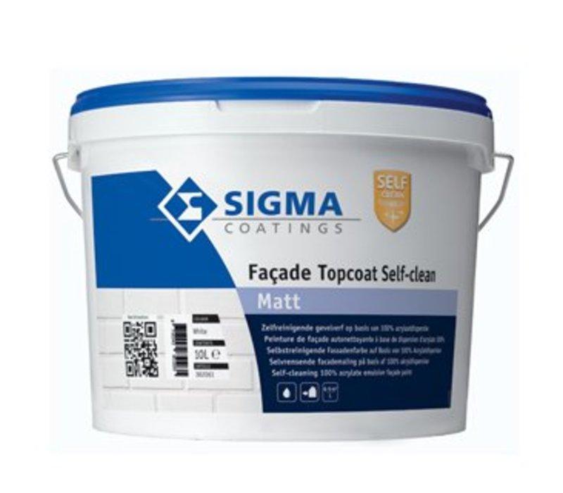Sigma Facade Topcoat Self-Clean Matt