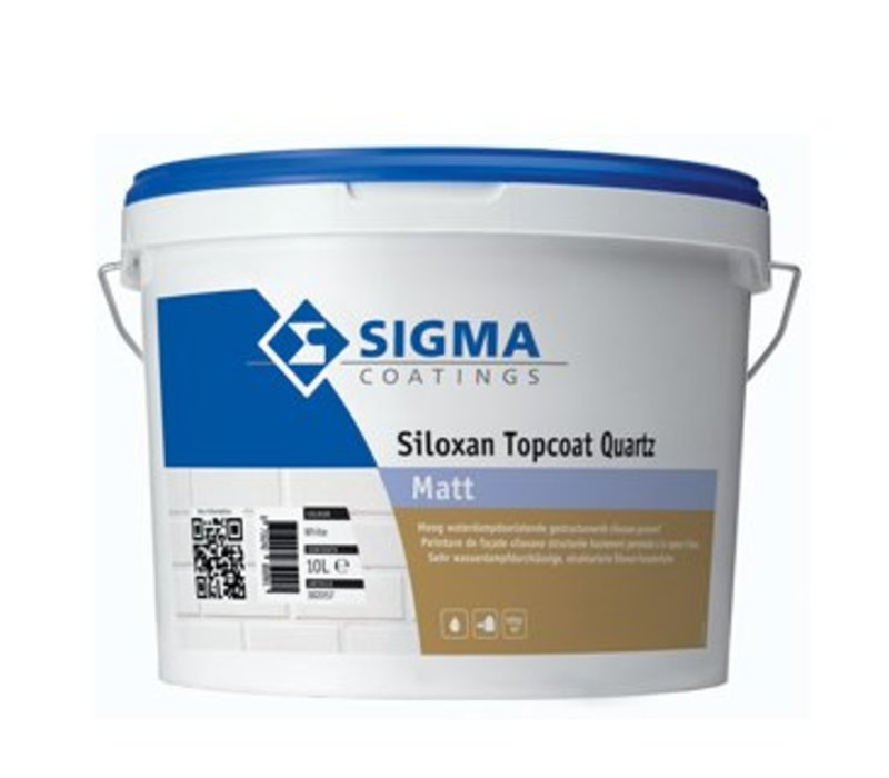 Sigma Siloxan Topcoat Quartz Matt