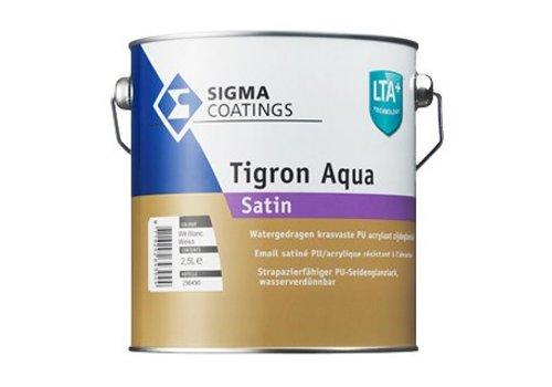 Sigma Sigma Tigron Aqua Satin