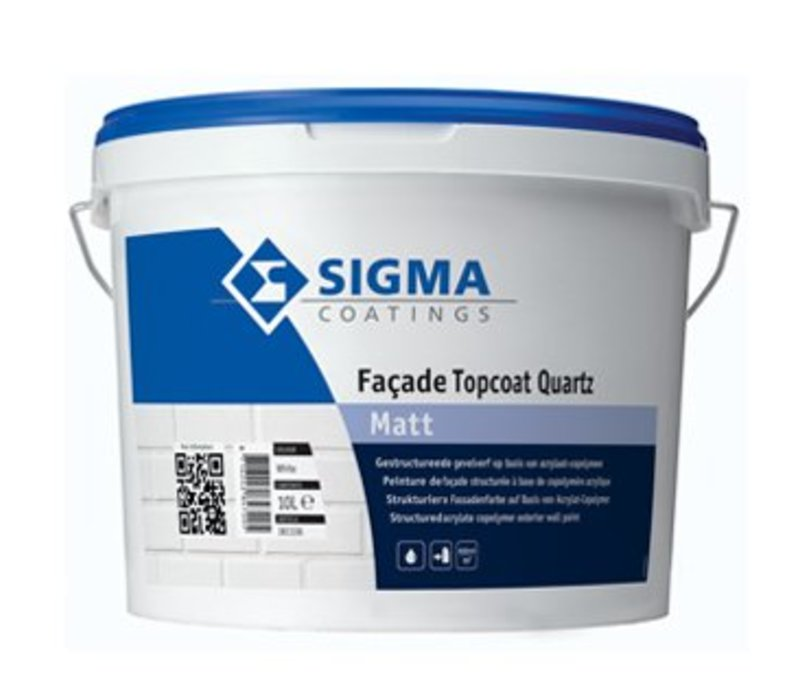 Sigma Façade Topcoat Quartz Matt