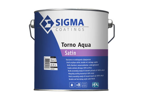 Sigma Sigma Torno Aqua Satin