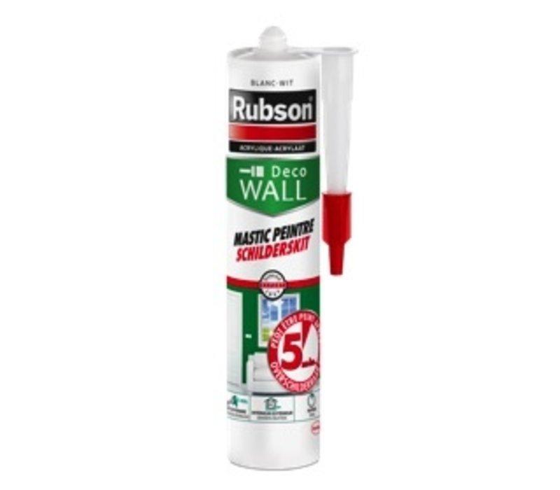 Rubson acrylaat schilderskit (wit) 0,28 ltr