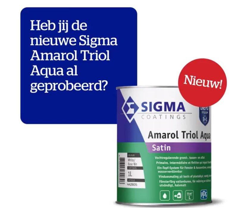 Sigma Amarol Triol Aqua Satin