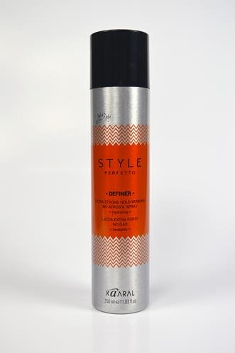 Kaaral definer extra strong hold working spray non aerosol 350ml