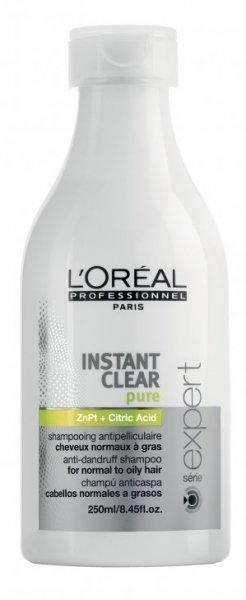 L'Oreal L'Oreal Instant Clear Pure Shampoo Anti-Roos voor vettig haar