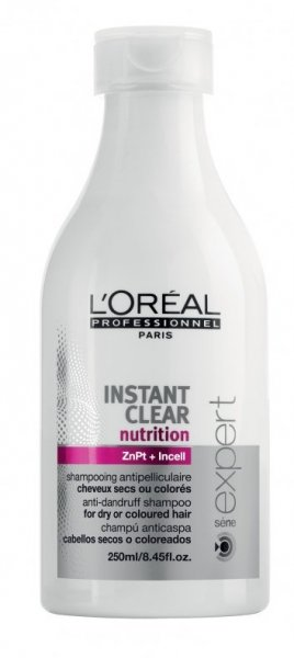 L'Oreal L'Oreal Instant Clear Nutrition Shampoo Anti-Roos