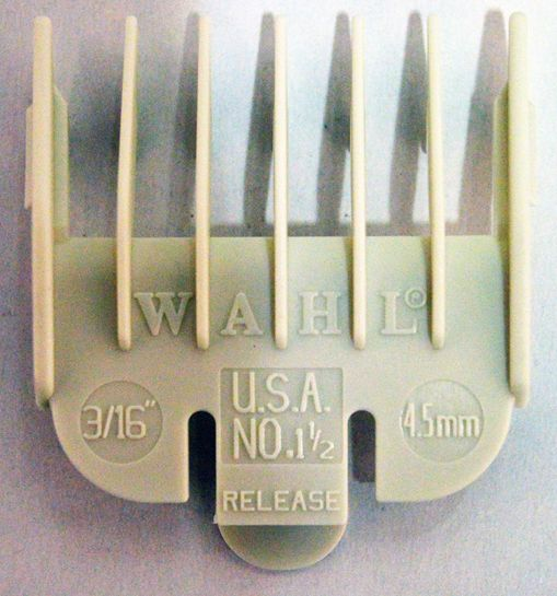 Wahl opzetstuk Wahl 100 4,5mm nummer 1,5 plastic