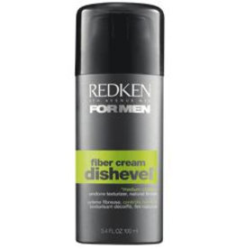 RedKen RedKen 5th Avenue NYC For Men Dishevel Fiber Cream, Undone Taxturizer, Natural Finish