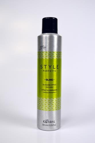 Kaaral Kaaral Style Perfetto Bling Glossing Spray Anti-Static 300ml