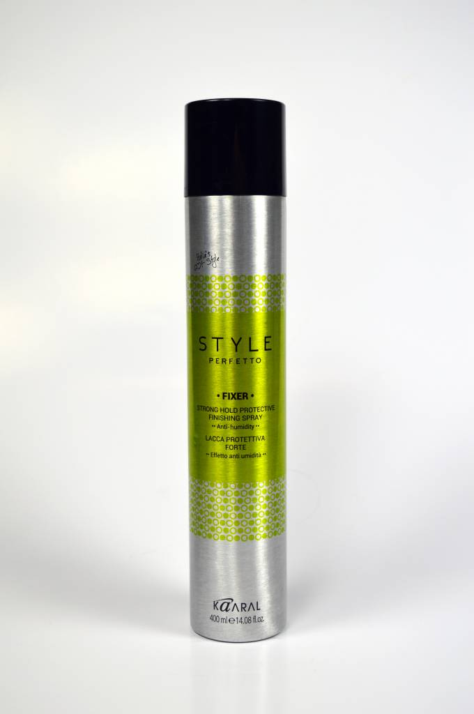 Perfetto Styling Kaaral Style Perfetto Fixer Strong Hold Protective Finishing Spray Anti-Humidity