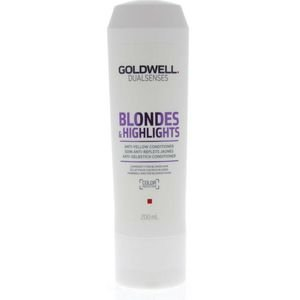 Goldwell Dual Senses blondes & highlights anti- brassiness conditioner 200ml goldwell