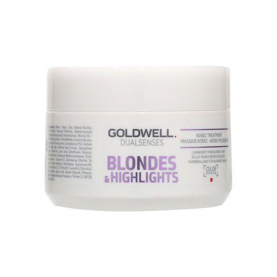 Goldwell Dual Senses blondes & highlights 60sec treatment 200ml goldwell