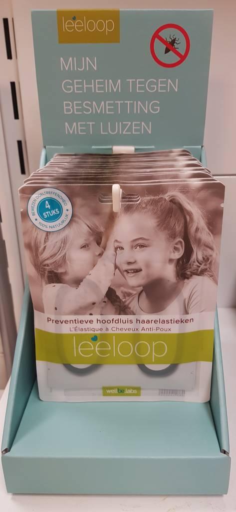 leeloops preventieve haarelastieken tegen luis.