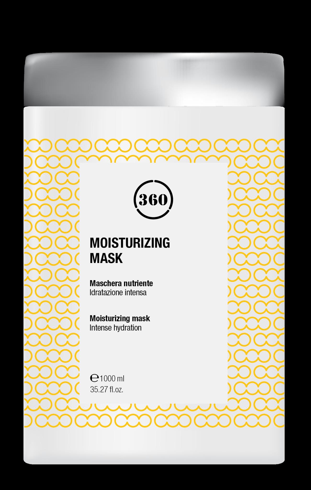 Kaaral 360  Moisturizing mask met Aloe Vera en Shea Butter 1000ml