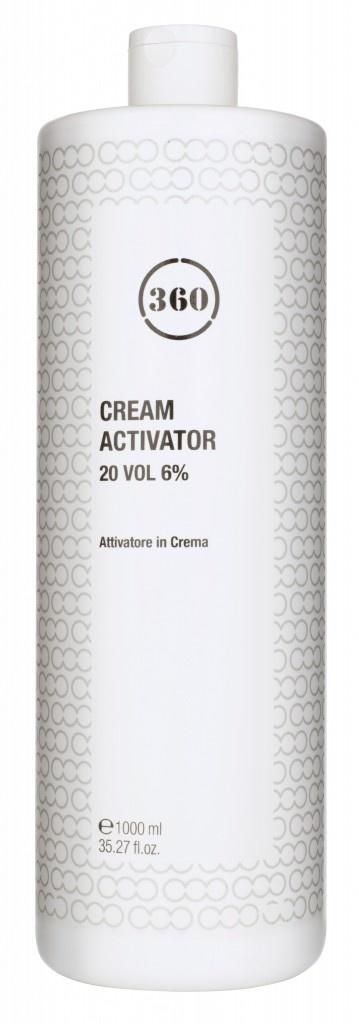 Kaaral 360 cream activator 20  vol - 6% peroxide 1000ml