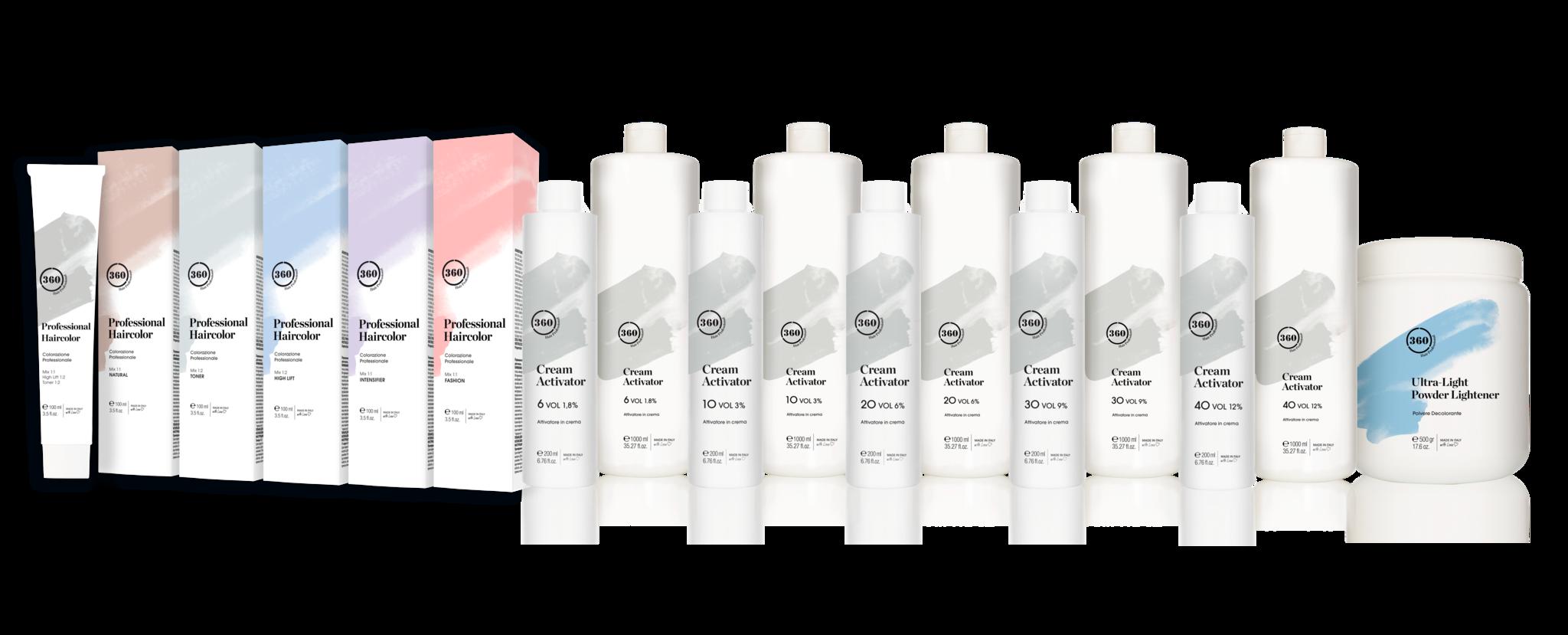 Kaaral 360 cream activator 20  vol - 6% peroxide 200ml