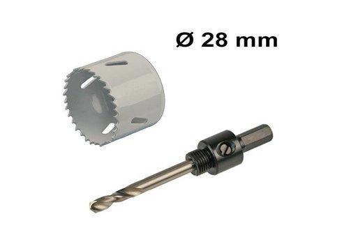 Gatenzaag set Ø 28 mm Bi-Metaal