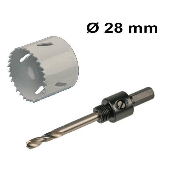 Gatenzaag set  28 mm Bi-Metaal