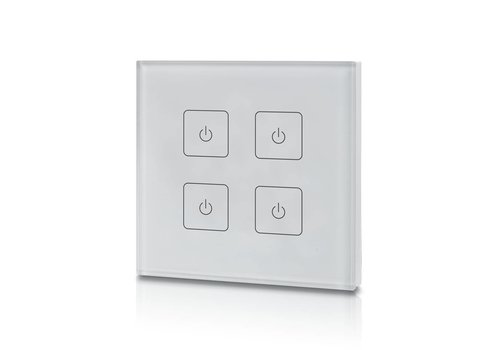 4-kanaals draadloze LED dimmer (Touch)