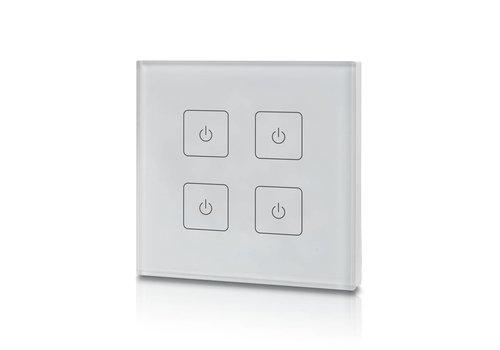 4-Kanal LED Wanddrucker mit Funksteuerung
