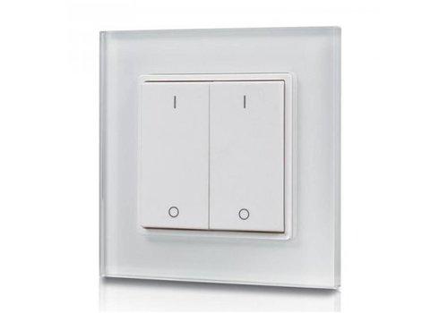 2-kanaals draadloze LED muur dimmer (drukker)