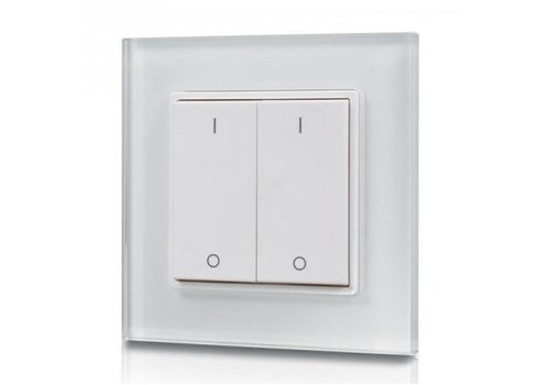 INTOLED 2-kanaals draadloze LED muur dimmer (drukker)