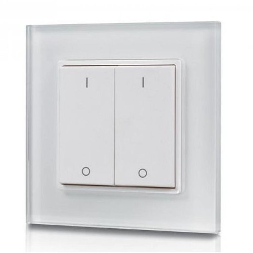 HOFTRONIC™ 2-kanaals draadloze LED muur dimmer (drukker)