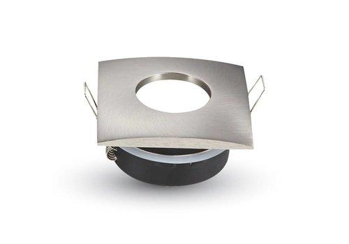 New York IP44 GU10 armatuur geborsteld aluminium