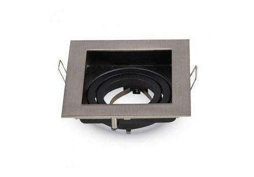 V-TAC Modesto IP20 GU10 armatuur geborsteld aluminium